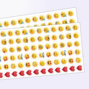 Stickerset mit Emojis