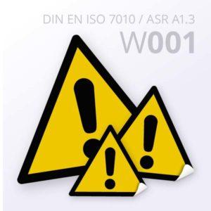 Warnzeichen-Allgemeines Warnzeichen