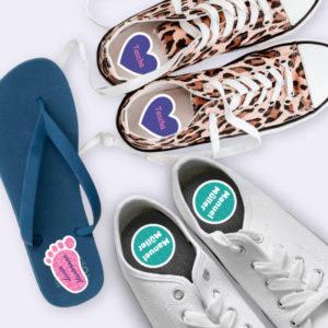 Schuhetiketten