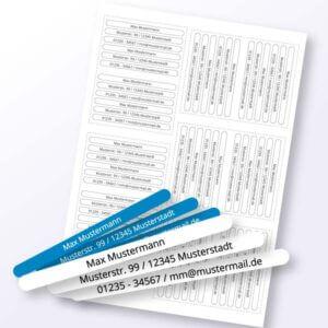 Adressaufkleber online bestellen bei Stickerzauber.de