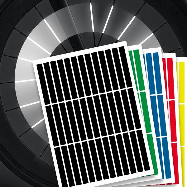 Speichenreflektoren StvZO Konform mehrere Farben