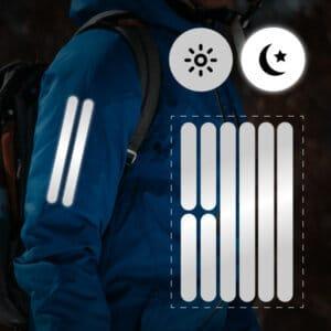 reflektoraufkleber für kleidung streifenform
