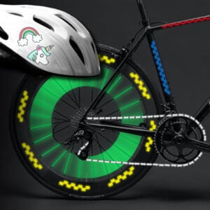 Fahrradreflektoren selbstklebend