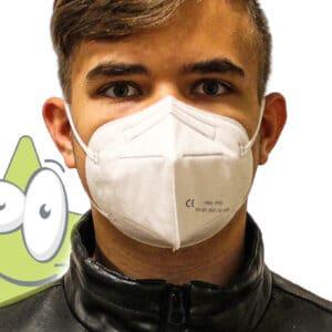 FFP2-Maske, Atemschutzmaske Corona günstige FFP2 Maske kaufen Bayern Stickerzauber FFP2 Atemschutzmaske