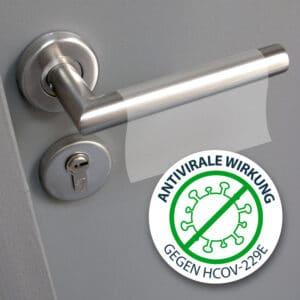 Antimikrobielle Schutzfolie Schutz vor Corona Viren und Keime, zertifiziert, pure zone markenhersteller