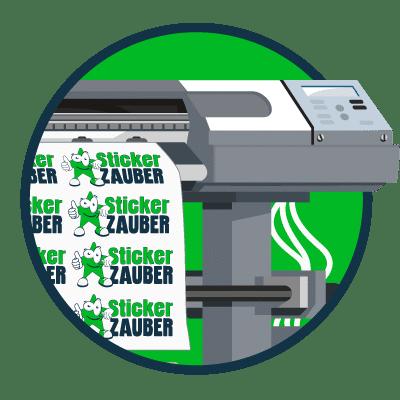Modernste Drucktechnik